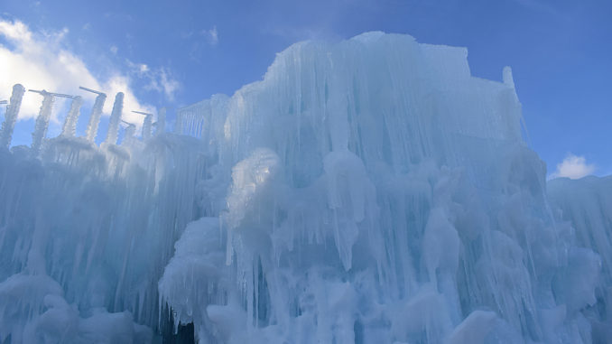 New Hampshire Ice Castle