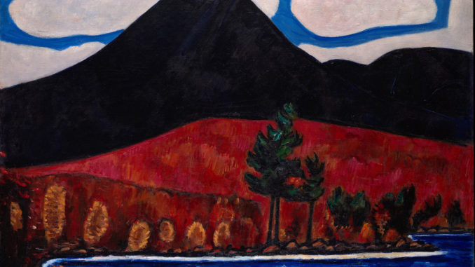 Marsden Hartley Maine Painting Mt. Katahdin